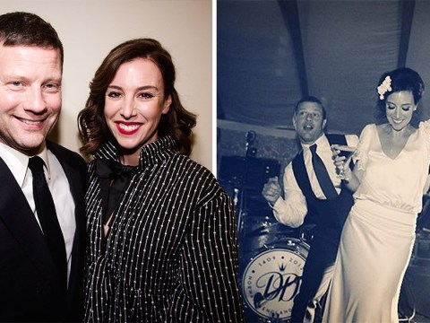 Dermot O'Leary shares rare snap of wedding as he celebrates 7 year anniversary with wife Dee