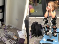 Thieves stole toddler's vital life saving equipment