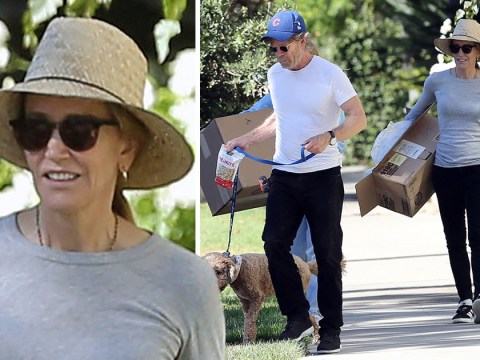 Desperate Housewives' Felicity Huffman emerges for the first time since being sentenced to prison