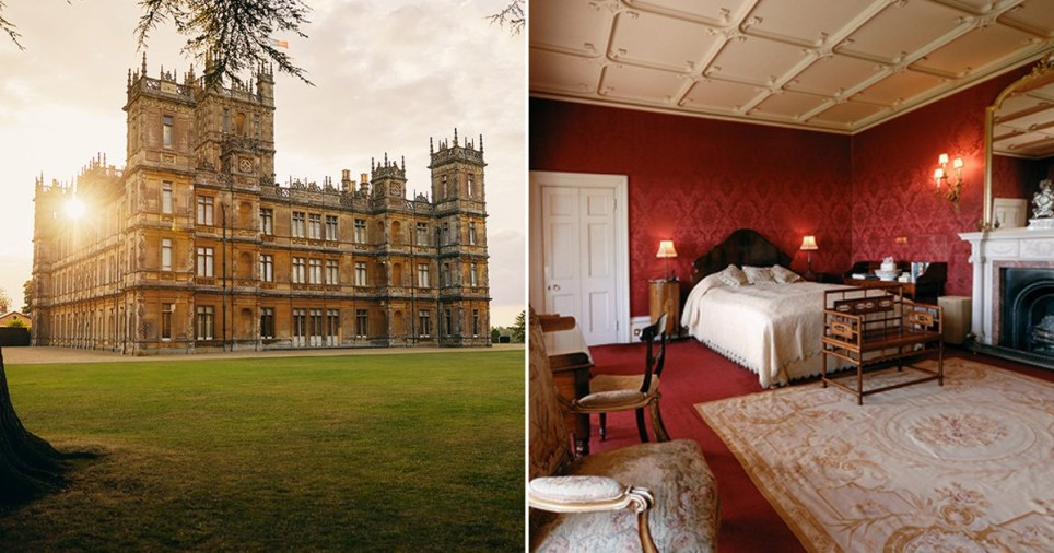 Downton Abbey Fans Can Stay In Highclere Castle As Room Goes On