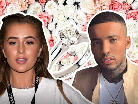 Love Island's Georgia Steel 'engaged' to Callum Izzard after one month of dating as he pops the question on TV