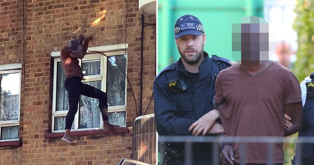 Kentish Town man trying to escape police is caught as he reaches the ground