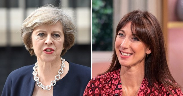 Theresa May caught Samantha Cameron having 'a beer and a few rollies' at Number 10