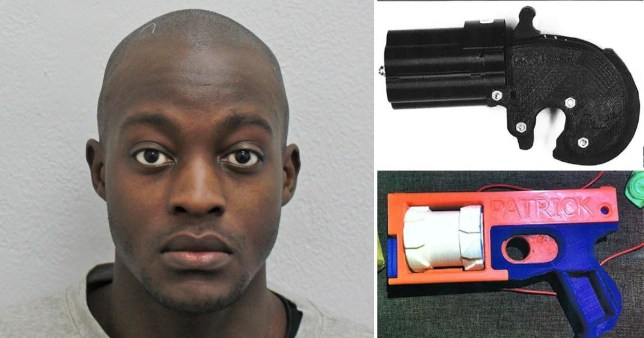 Film student becomes the first person to be jailed for 3D printing guns