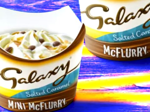 McDonald's launches Galaxy McFlurry with salted caramel sauce