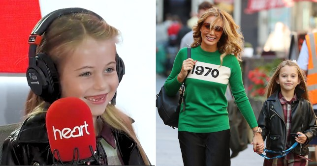 Amanda Holden daughter