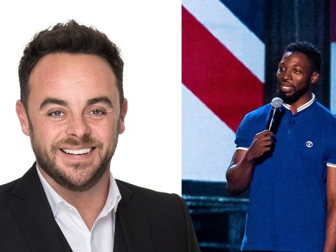 Ant McPartlin licks Britain's Got Talent star's face and we have so many questions: 'You taste good!'