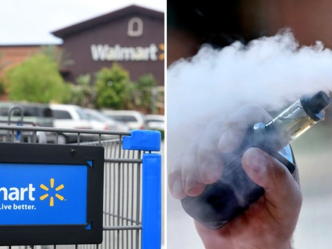 Walmart will stop selling e-cigarettes as concern grows over vaping