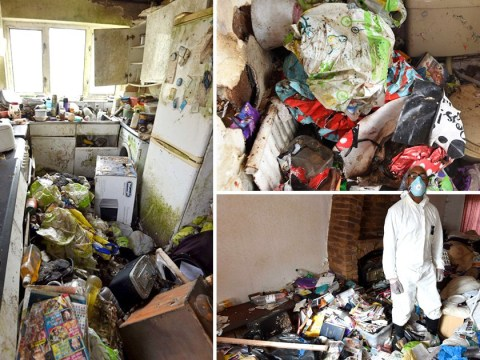 Through the keyhole of a hoarder's filthy rat-infested home