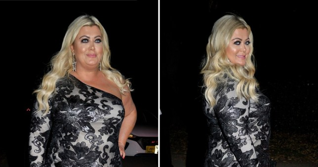 Gemma Collins looks unreal in black sequinned gown for RHOC's Dawn Ward's Creme Charity Ball