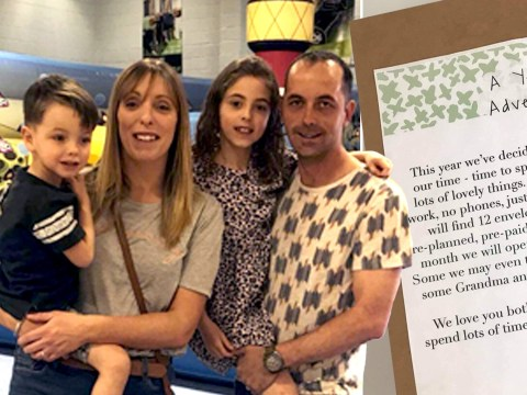 Mum saves money by giving her kids 'the gift of time' instead of presents