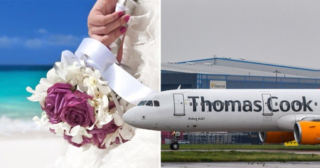 Nervous brides-to-be among those left waiting as Thomas Cook falters