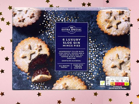 Asda launches six gin-infused mince pies for £2