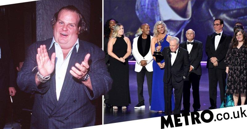 SNL boss Lorne Michaels pays tribute to late Chris Farley after Emmy win