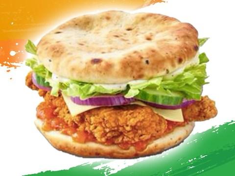 McDonald's launches Indian chicken burger with garlic naan as the bun