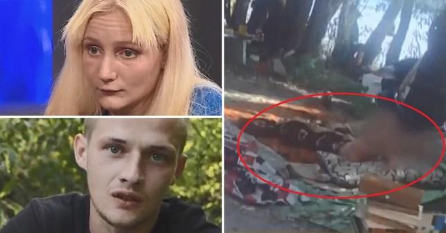 Abandoned boys in Ukraine