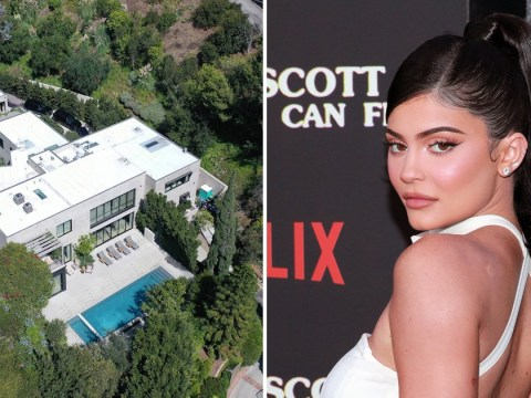Aerial photos of Kylie Jenner and Travis Scott's $13.45 million Beverly Hills mansion proves why we're still jealous