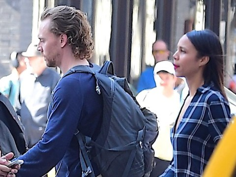 Tom Hiddleston and Zawe Ashton fuel dating rumours as they hit up an auction together in New York