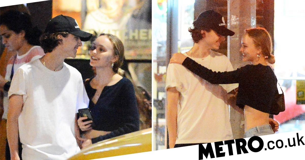 Timothee Chalamet And Lily Rose Depp Smitten On New York Date Night Metro News