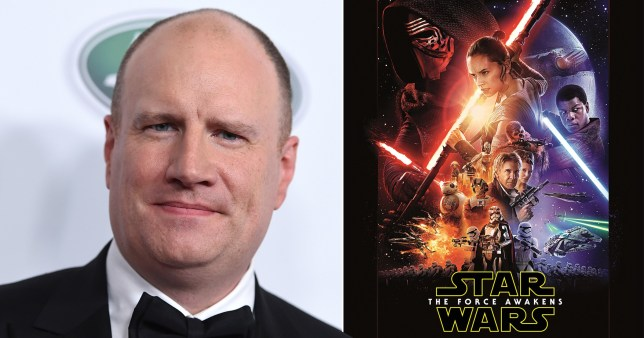 Kevin Feige and Star Wars