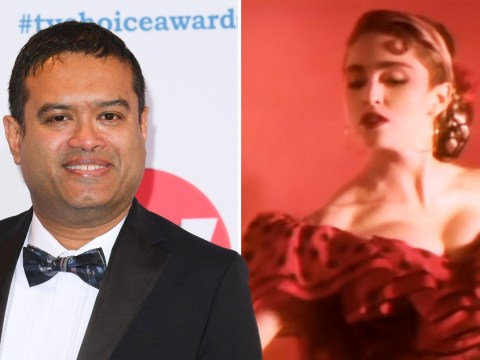 The Chase's Paul Sinha channels inner Madonna as co-star Jenny Ryan joins Celebrity X Factor