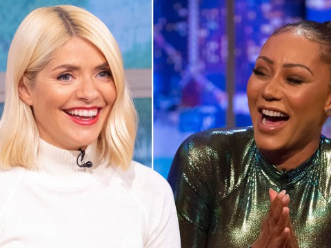 Mel B says Celebrity Juice co-captain Holly Willoughby would drag her weave off to win