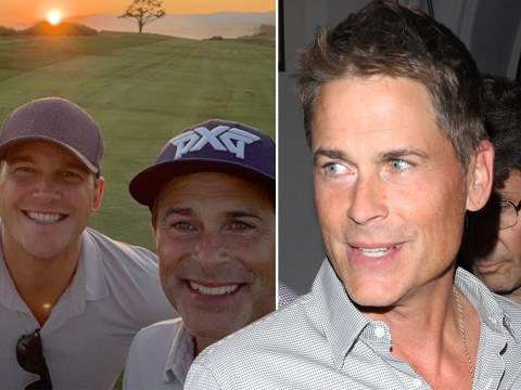 Rob Lowe's sons keep trolling him with the most savage comments and we cannot even deal