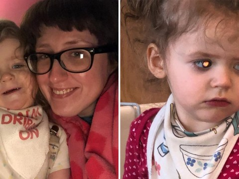 Girl's dilated pupils were sign that she had devastating brain tumour