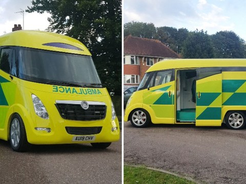 New £250,000 'spaceship ambulances' can reach speeds of 99mph