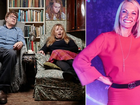 Gogglebox's Giles Wood makes bizarre 'milf' dig at The Circle's Katie and fans are in stitches