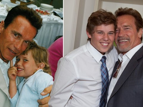 Arnold Schwarzenegger is one proud dad as he shares adorable birthday message to son Christopher
