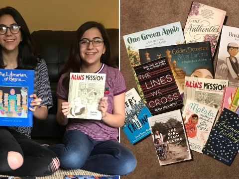 Two teenagers set up a non-profit to donate books with Muslim characters to schools