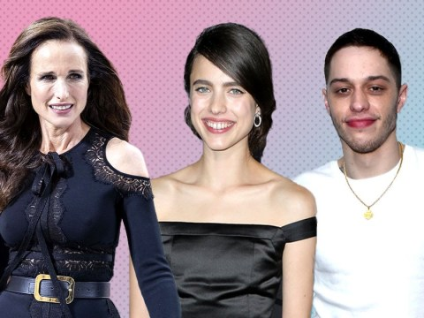 Andie MacDowell gives her seal of approval to daughter Margaret Qualley and Pete Davidson's 'beautiful relationship'