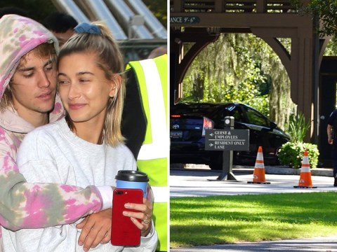 Justin Bieber and Hailey Baldwin's wedding venue surrounded by security ahead of big day