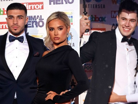 Love Island's Molly-Mae and Tommy double date with Maura and Curtis at Animal Hero Awards