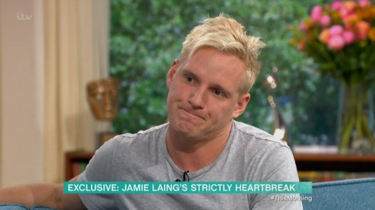 Jamie Laing on This Morning