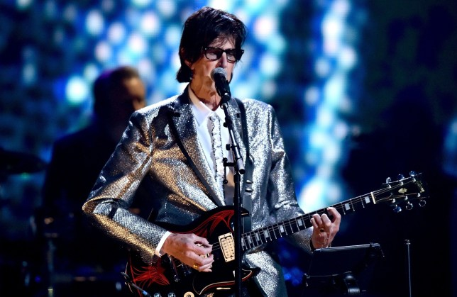 Ric Ocasek was best known as the frontman of The Cars (Andrew H Walker/REX)