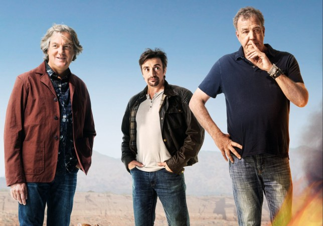 The Grand Tour cast Richard Hammond, Jeremy Clarkson and James May