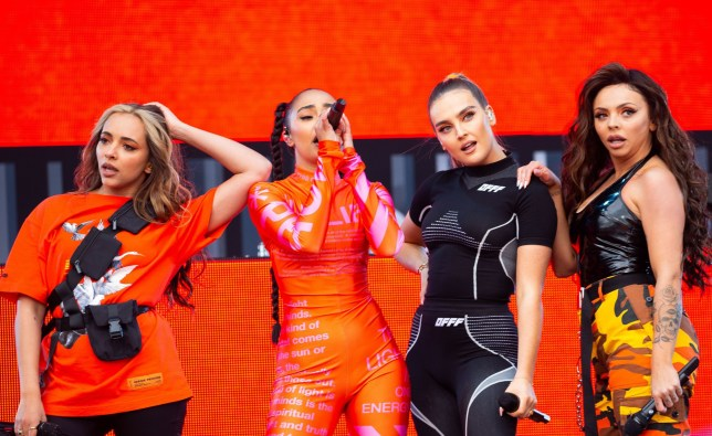Little Mix serve epic clap back at Piers Morgan using a clip of him as a prelude to Wasabi in their show