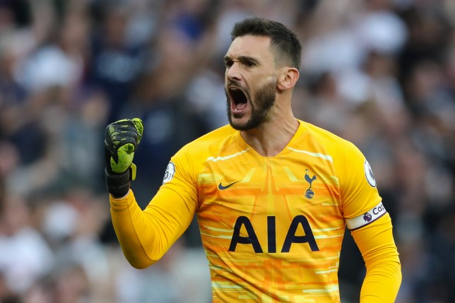 Hugo Lloris is out of Tottenham's clash with Leicester City