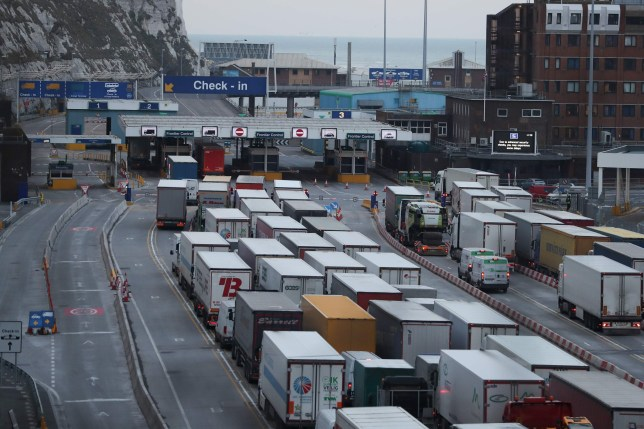 Thousands of lorries to be turned away from ports across the country after no-deal Brexit