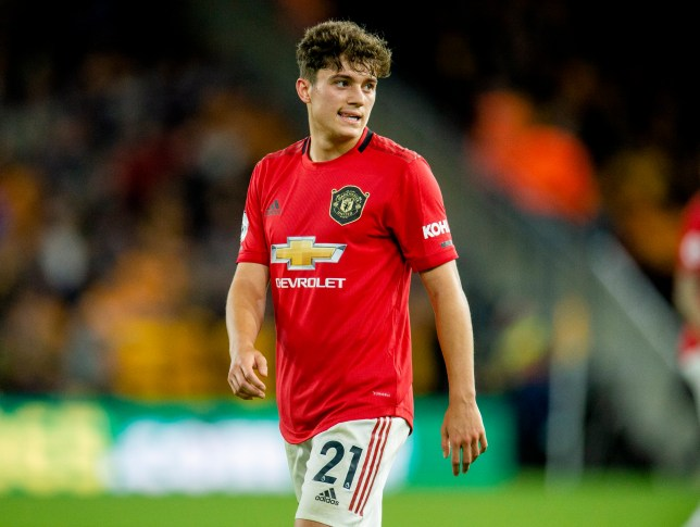 Daniel James is a doubt for Manchester United's clash with Astana
