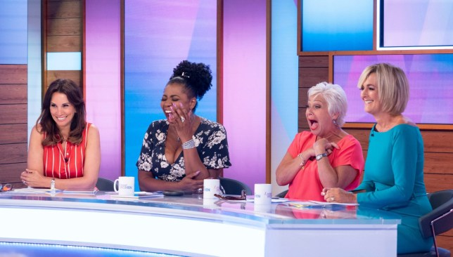 Andrea McLean, Brenda Edwards, Denise Welch and Jane Moore hosting ITV show Loose Women
