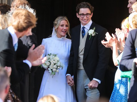 Ellie Goulding pays tribute to 'love of her life' Caspar Jopling in sweet post after their wedding