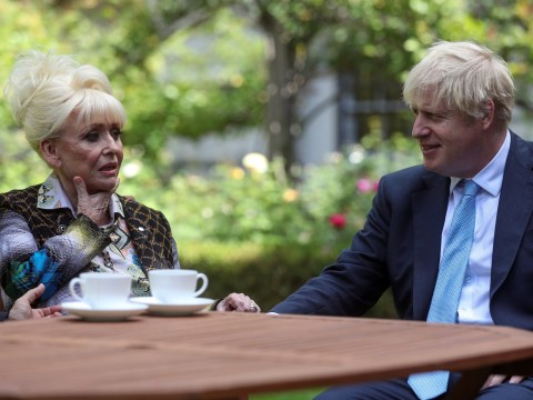 Barbara Windsor had to be told 'eight times' she was going to meet Boris Johnson as husband reveals dementia struggle