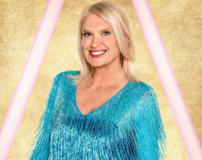 Anneka Rice on Strictly