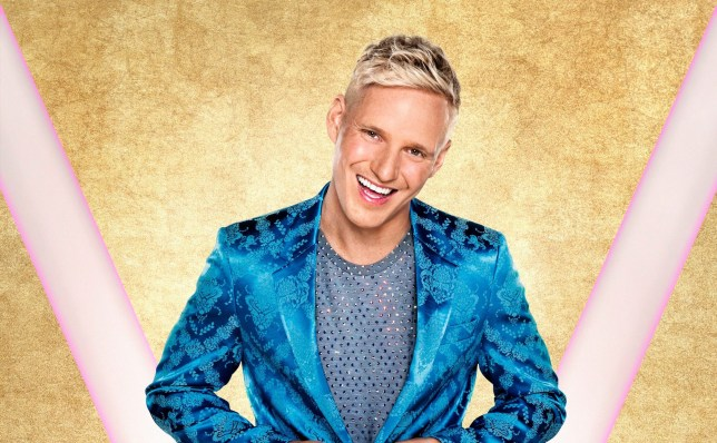 Jamie Laing on Stirctly Come Dancing
