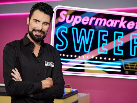 When does Supermarket Sweep start on ITV2 and who is the presenter?
