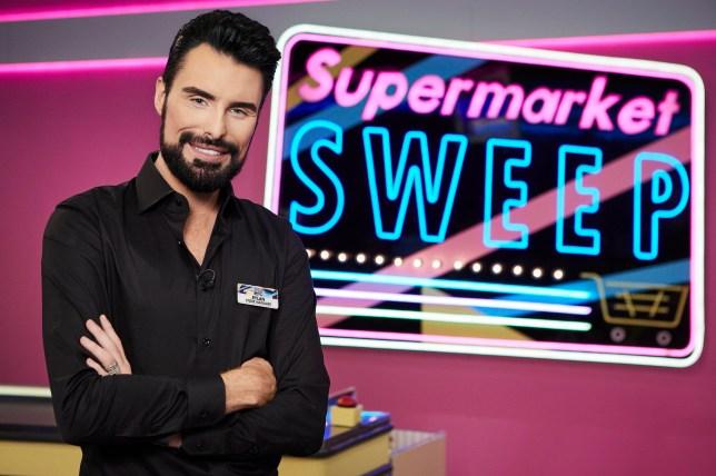 Supermarket Sweep host Rylan Clark-Neal