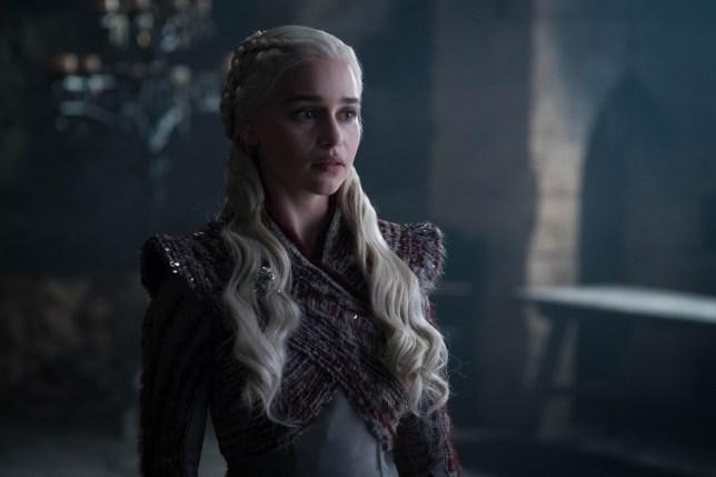 Emilia Clarks daenerys game of thrones